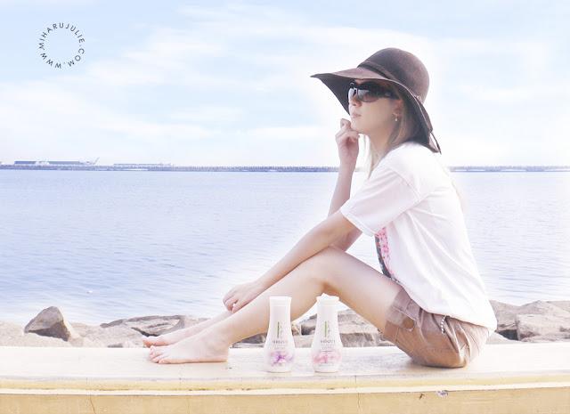 Tips mencerahkan kulit dengan SHINZU'I Body Lotion