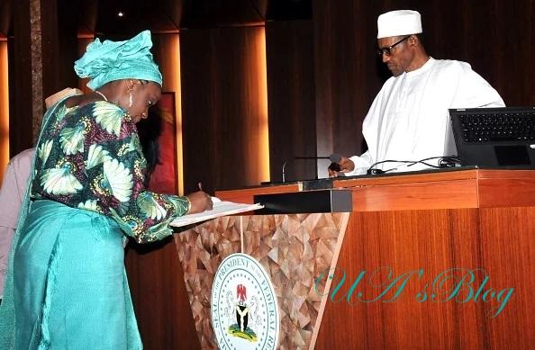 NYSC certificate: PDP tells Buhari to arrest, prosecute Kemi Adeosun