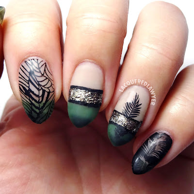 Triple Tropical Nails