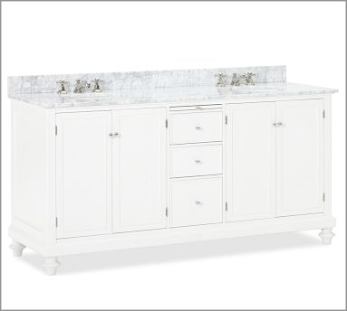 Pottery Barn Classic Turned Leg Sink Consoles Decor Look