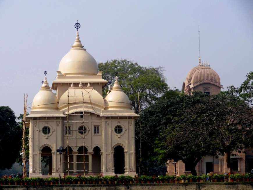 Swami Vivekananda memorial at Belur Math - Kolkata