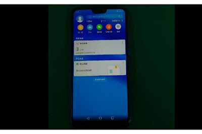 Huawei P20 Lite Specifications and Image in Blue