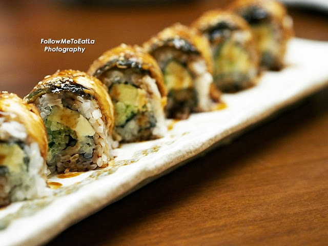 Unagi Cheese Roll RM28