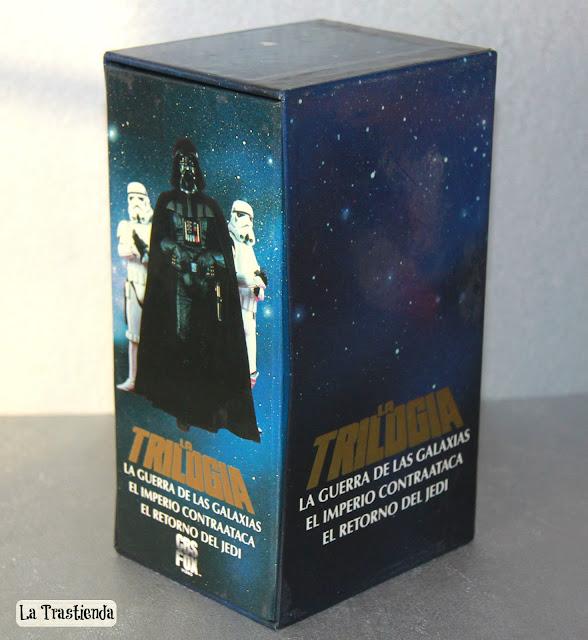 Trilogía de La Guerra de las Galaxias (VHS)
