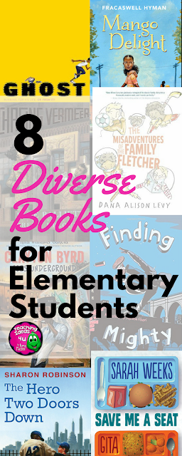 8 Diverse Books for Upper Elementary Students