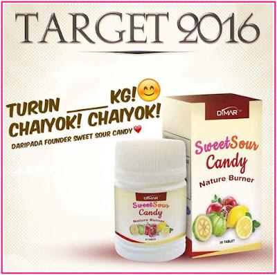 Sweet Sour Candy : Gula Gula Kurus 6