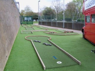 Mini Golf in Chiswick, London