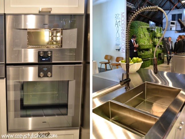 Gaggenau wall oven and Franke Peak sink