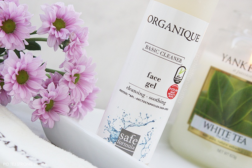 opakowanie żelu organique basic cleaner face gel