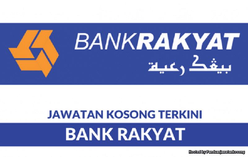 Iklan Jawatan Kosong Bank Kerjasama Rakyat Malaysia Berhad (Bank Rakyat)  (30 Mei 2018)