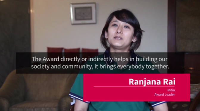 "Ranjana Pradhan Rai selected for ""The Duke of Edinburgh's International Award"""
