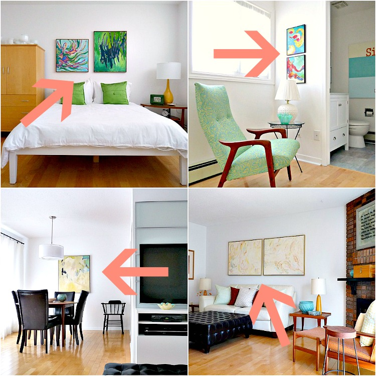 How to use art in home decor