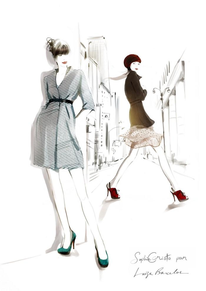 Красивые иллюстрации. Sophie Griotto 3