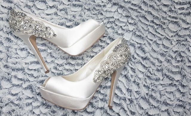 Glamorous Bridal Shoes from Lace and Favour