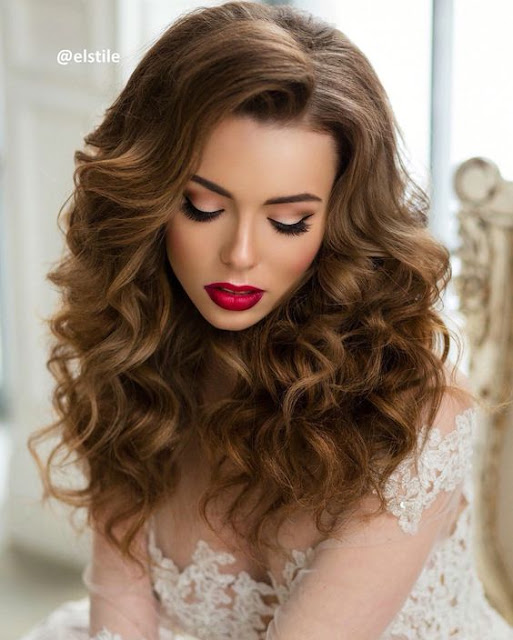 Long Hair Wedding Hairstyles Down: Super Gorgeous Curly Formal Hairstyles