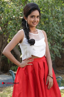 Actress Mahima Nambiar Latest Stills in White Top and Red Skirt at Kuttram 23 Movie Press Meet  0037.jpg