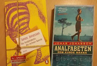 man sieht das deutsche und das schwedische Buch