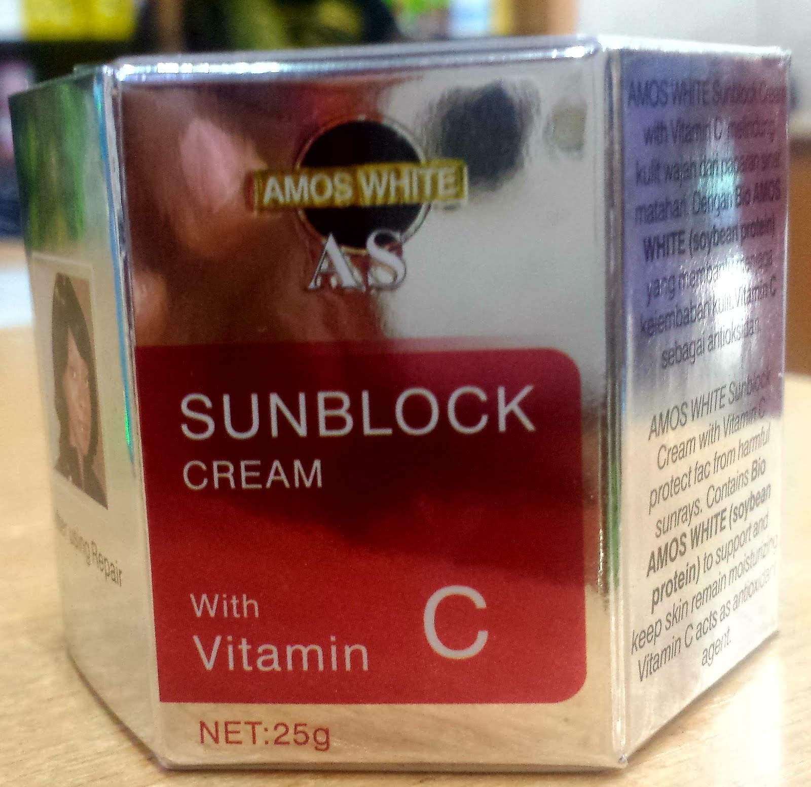 AMOS WHITE SUN BLOCK CREAM