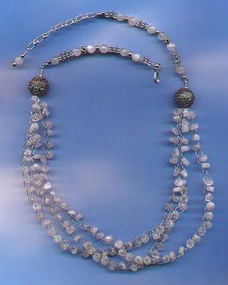 Wire Crochet Necklace Tutorials The Beading Gems Journal
