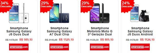 Vantagens e Promoção do Smartphone Samsung Galaxy