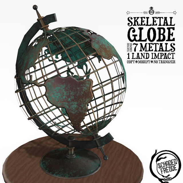 Schadenfreude Skeletal Globes