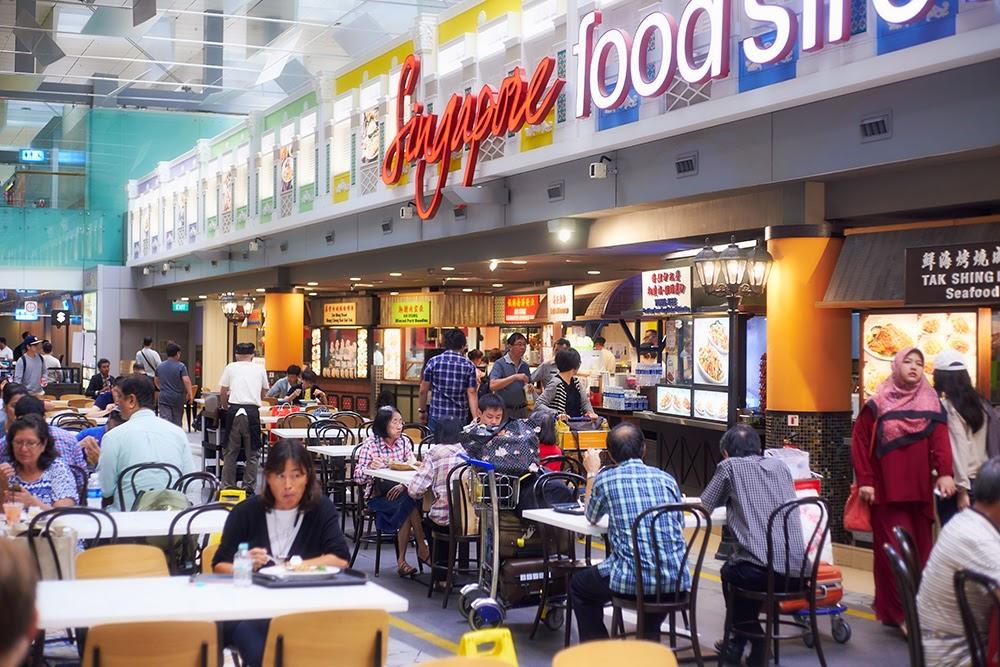 Hasil gambar untuk singapore food street