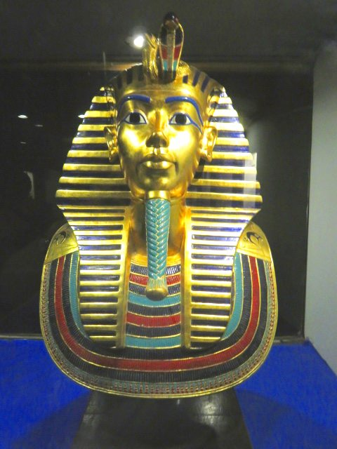 Tutankhamun's Death Mask replica