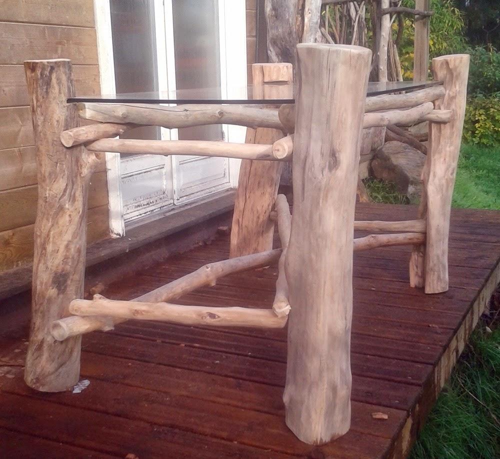 les bois flott s de didier fabrication d 39 une table manger pour un client. Black Bedroom Furniture Sets. Home Design Ideas