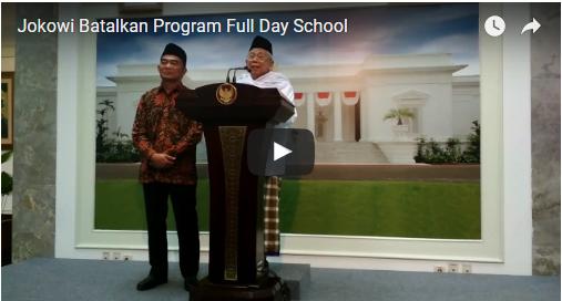 gambar Jokowi Batalkan Program