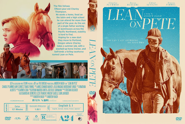 Lean on Pete DVD Cover
