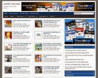 Membuat Auto Readmore Dua Kolom Responsive di Halaman Depan Blogger