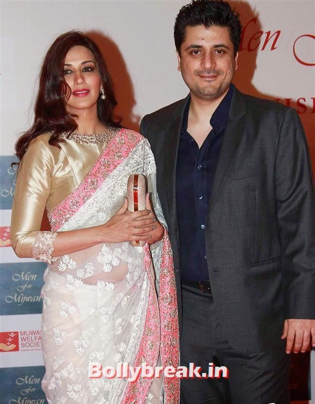 Sonali Bendre and Goldie Behl, Top Bollywood Celebs at Men For Mijwan Charity Fashion Show