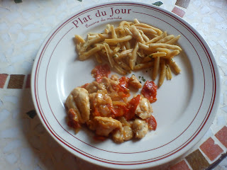 Lapin (ou poulet ou dinde) au chorizo