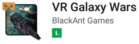 Jogo VR Galaxy Wars
