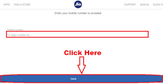 book jio phone online step 3