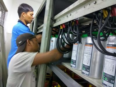 melayani pembuatan panel kapasitor bank