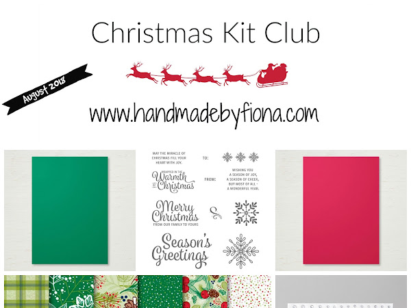 August Christmas Kit Club