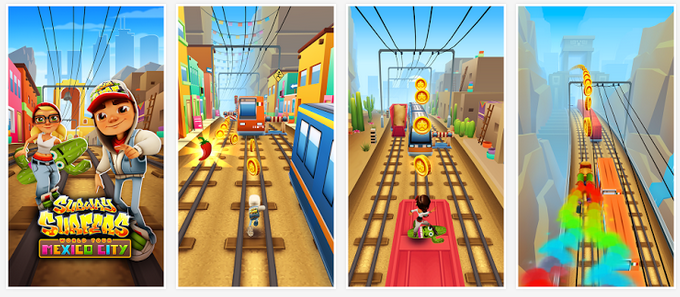 Subway Surfer V.1.21 MEXICO Mod ( Unlimited Coin ) Apk game Android