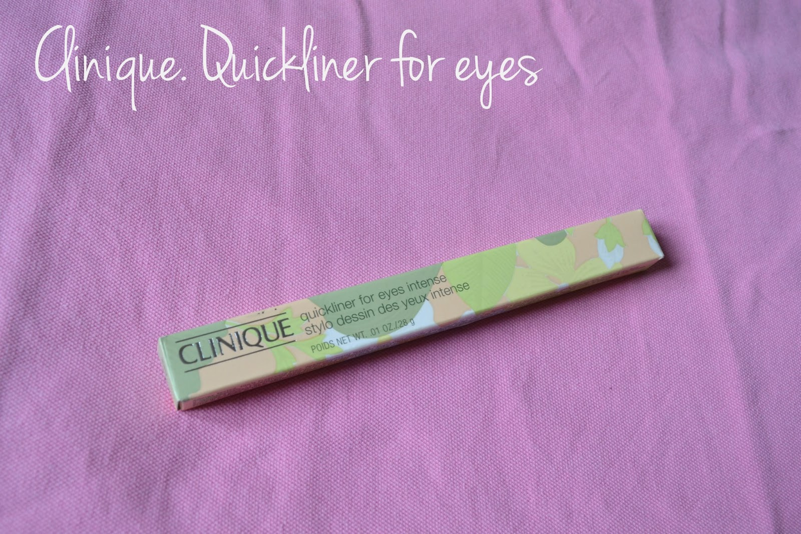 Review: Clinique Quickliner 09 Intense Ebony   Love, Maisie