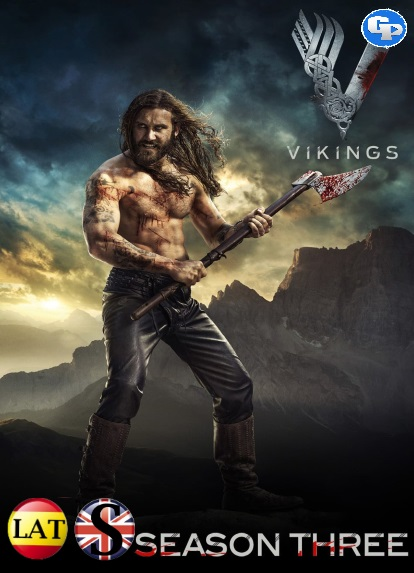 Vikingos (Temporada 3) HD 1080P LATINO/INGLES