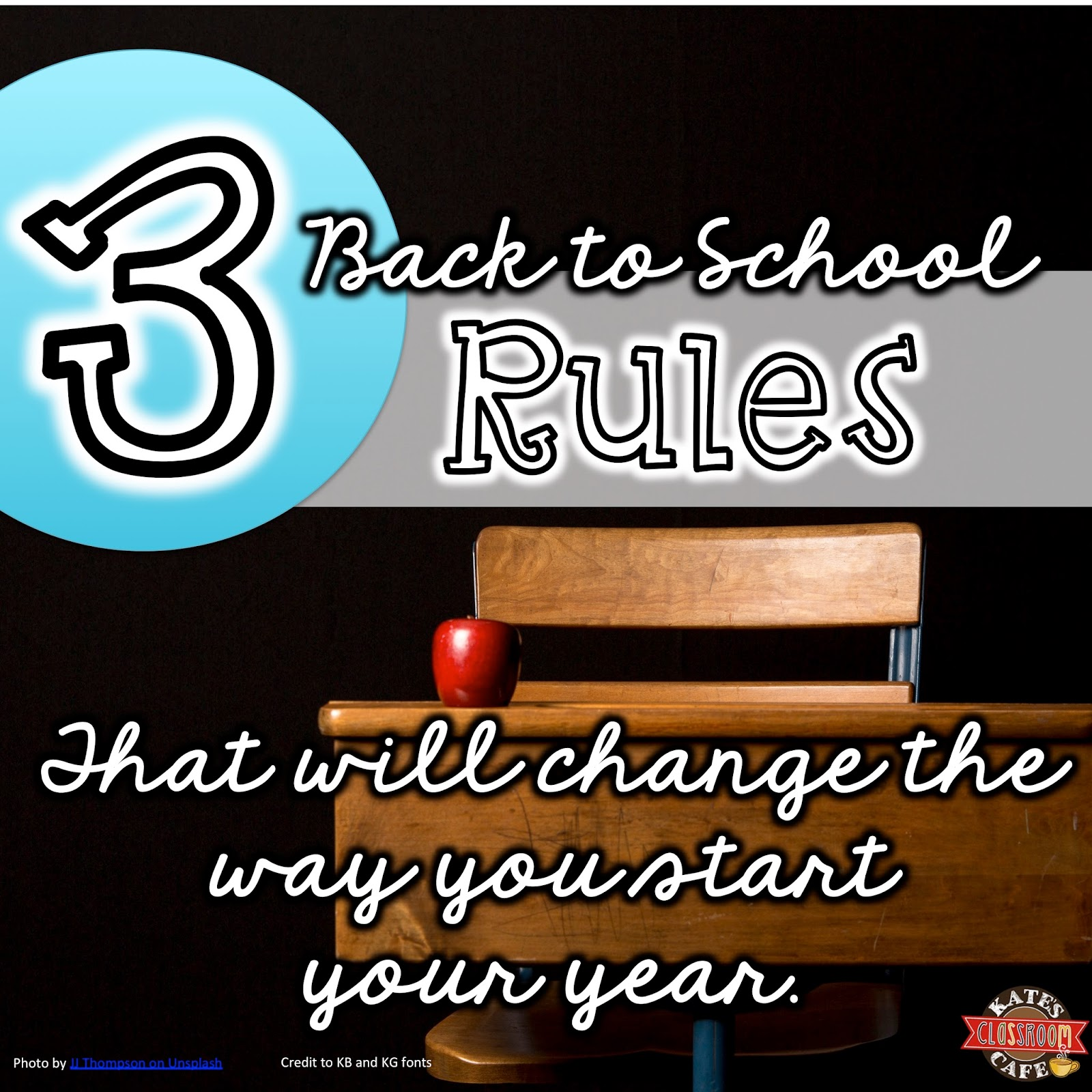 Kate S Science Classroom Cafe 3 Back To School Rules That