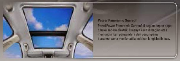 HRV panoramic roof