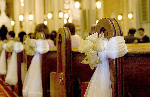 wedding in chuch ideas