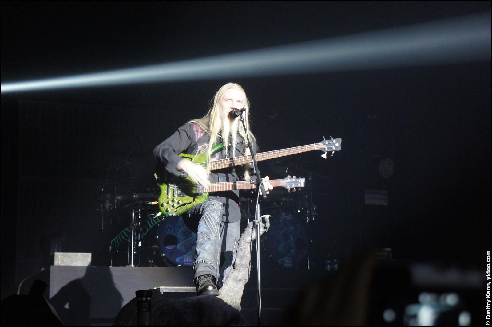 Nightwish: Marco Hietala и его даблнек.