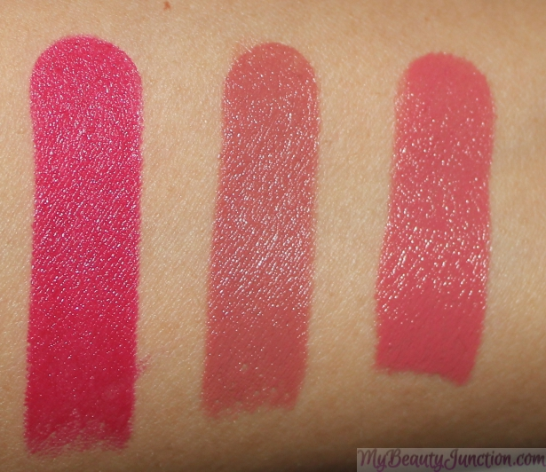 Estee Lauder Pure Color Envy Sculpting Lipstick swatches