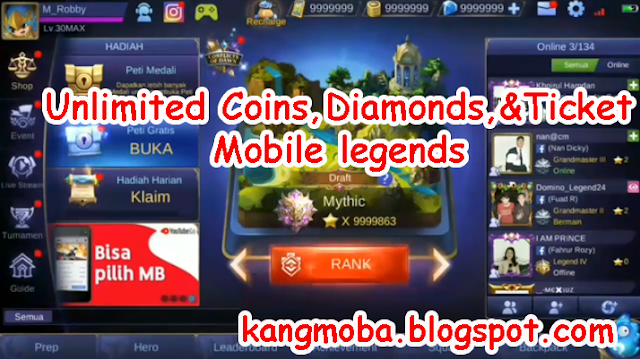 Mobile Legends Mod Apk Terbaru 2018 by Prince