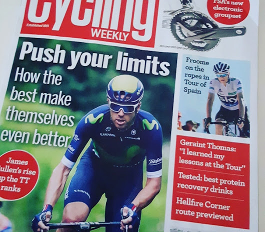 Featured in Cycling Weekly