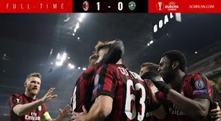 AC Milan vs Ludogorets 1-0 Liga Europa Highlights
