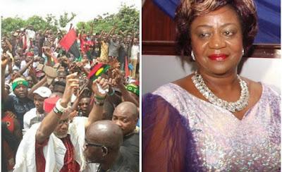 Biafra: Nnamdi Kanu's followers are touts, hooligans and hoodlums - Laurretta Onochie
