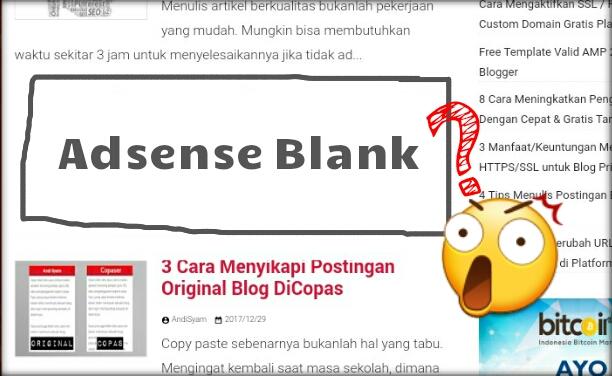 Cara Mengatasi Iklan Google Adsense yang Tak Kunjung Muncul di Postingan Baru Blog